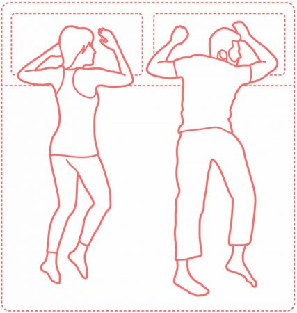 Freefall Sleeping Position